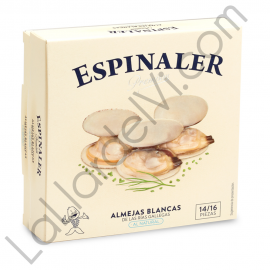 White Clam Premium Espinaler 14/16 pieces