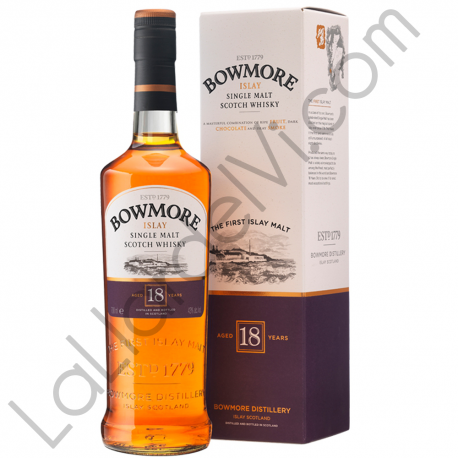 Whisky Bowmore 18