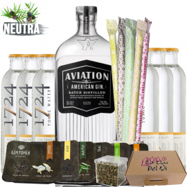 Set Gin Tonic Aviation