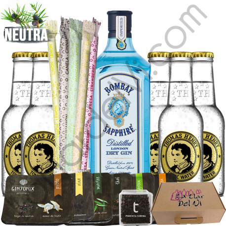"Set Gin Tonic Bombay Sapphire ""Perfect Serve"""