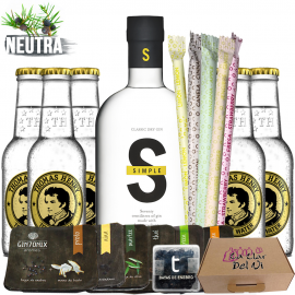 Set Regalo Ginebra Simple