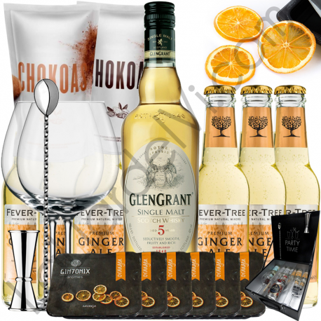 Set Whisky Ginger Ale - Glen Grant