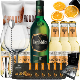 Pack Whisky Ginger Ale - Glenfiddich 12 Anos
