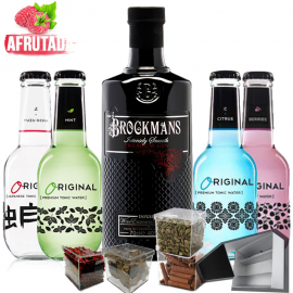 Kit Gin Tonic Ginebra Brockmans