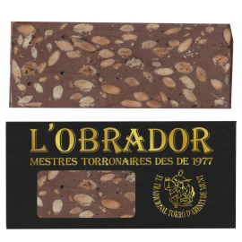 Turron Chocolate and Almond Artisan - L'Obrador