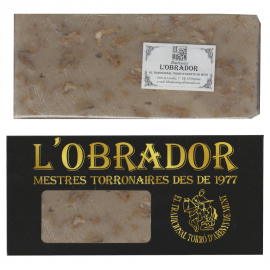 Artisan Turron with Cream and Nuts - L'Obrador