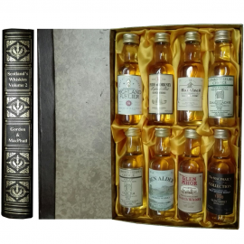 Scotland's Whiskies Volume 2 - Gordon & McPhail set of 8 5cl miniatures