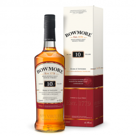 Bowmore 10 Años Dark & Intense 1L