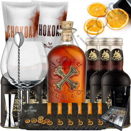 Rum & Cola Gift Kit - Bumbu