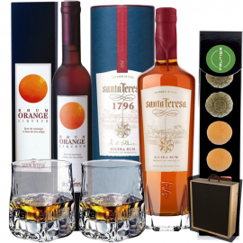 Give Santa Teresa Orange Liqueur & 1796