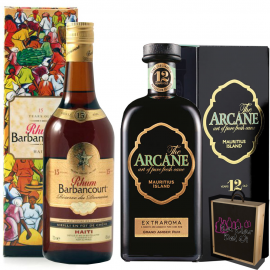 Agricultural Rums Selection Arcane 12 & Barbancourt 15