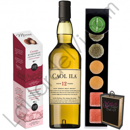 Pack Regalo Whisky - Caol Ila 12