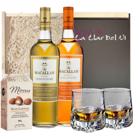 Regalar Whisky The Macallan Gold y Amber