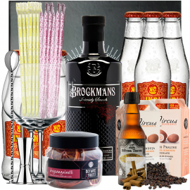 Gin Tonic Brockmans Kit
