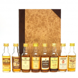 Scotland's Whiskies Volume 1 - Gordon & McPhail set de 8 miniatures de 5cl