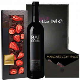 Gift Pairing Baigorri Reserve and ChocoMe