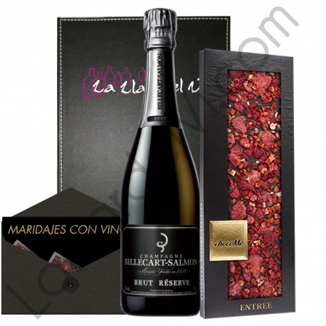 Regalo Champagne y Chocolate