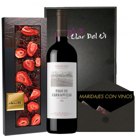 Presente Carraovejas e chocolate