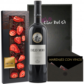 Pairing Chocolate and Emilio Moro