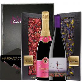 Wine, Cava and Chocolate to Give.