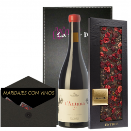 Pack wine L'Antana paired with chocoMe