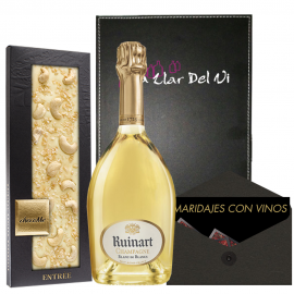 Champage Ruinart and ChocoMe for Gift