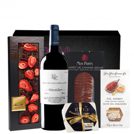 Regalo Gourmet Pago de los Capellanes Roble
