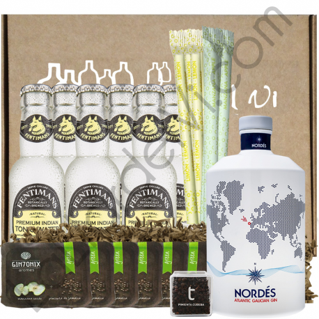 "Set Gin Tonic Ginebra Nordés ""Perfect Serve"""