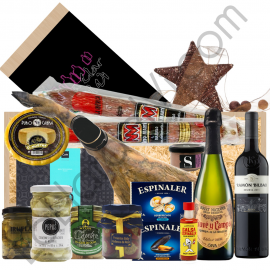 JAM103C - Jamonera box with Iberian bait