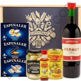 Lot with Vermouth and Preserved Espinaler - 2B1