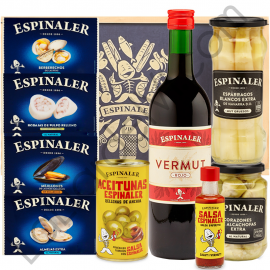 Lot with Vermouth and preserves Espinaler - 3B2