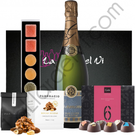 Gourmet Gift with Sweets and Cava Marta Joia
