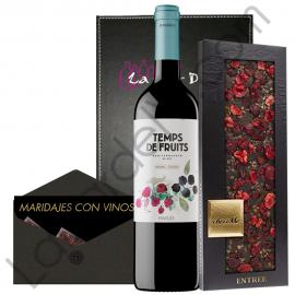 Pairing Merlot wine and Chocolate to give away