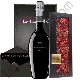 Gift Pairing Rimarts Rosae and ChocoMe