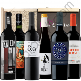 Selection six Catalan wines